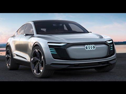 2019 Audi e-tron Sportback EV concept over 500km range