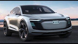 2019 Audi e-tron Sportback EV concept over 500km range thumbnail