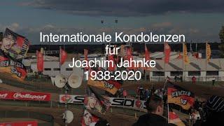 Joachim Jahnke (1938-2020): Kondolenzen aus aller Welt anlässlich der Trauerfeier am 15.8.2020