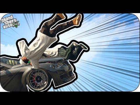 CORRETE  Y NO TE ATROPELLO en GTA 5 | BEBE VITA Y MILO GRAND THEFT AUTO V PS4 thumbnail