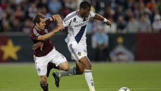 HIGHLIGHTS: Colorado Rapids vs LA Galaxy, April 21, 2012
