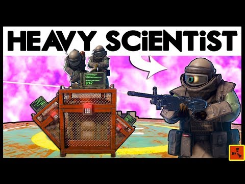 Rust HEAVY SCiENTiST LOOT - RICH RAIDS + OiL RiG FiGHT! (Rust Raids Modded) thumbnail