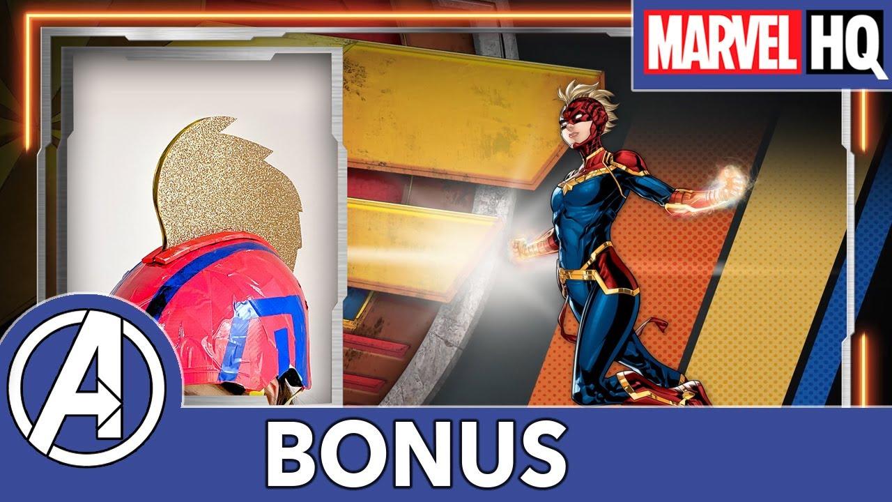 Mech Strike | Casco de Capitana Marvel
