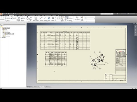 Create Drawings from COMPRESS Models in Inventor
