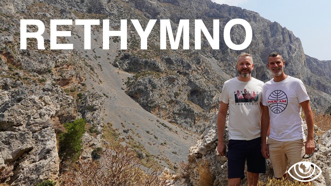Rethymno Crete (4K) / Greece Travel Vlog #259 / The Way We Saw It