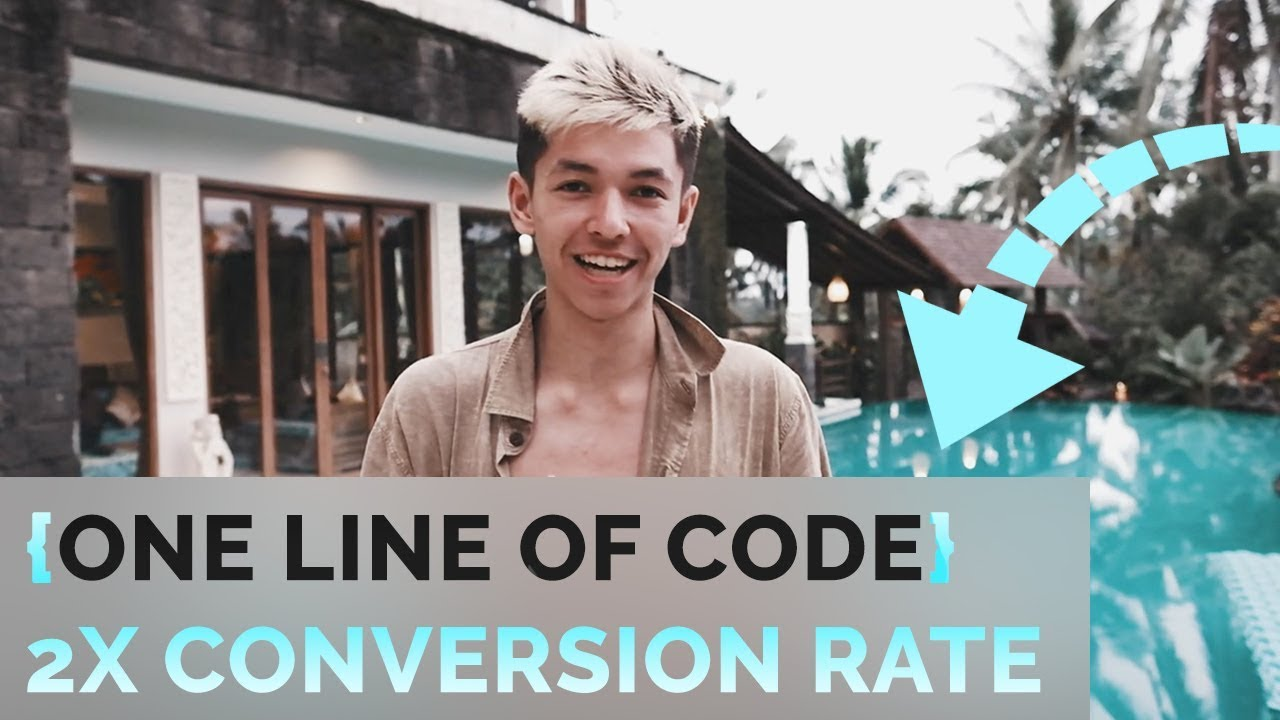 One Line Code To Double Your Conversion Rate Shopify Drop Shipping