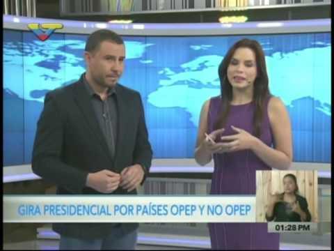 Presidente Nicolás Maduro desde Azerbaiyán en gira relámpago por países Opep y No Opep