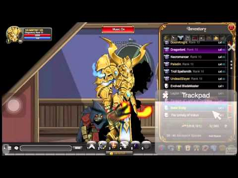AQW Thirdspell Merge Shop and solar set