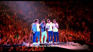 Bande annonce One Direction : Le Film