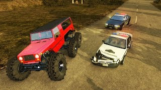 BeamNG Drive - HOPPER BEAST POLICE CHASES!