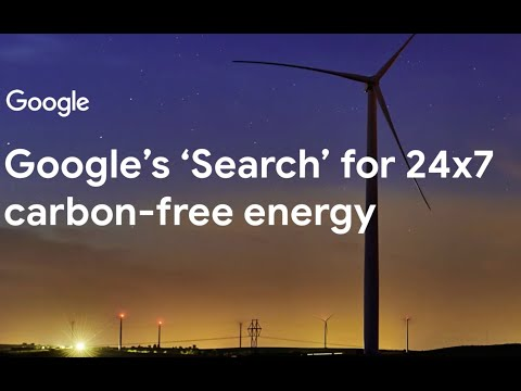 3/4/20 | Google's Search for 24x7 carbon-free energy | Michael Terrell