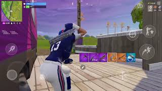 New York Giants in Fortnite! Blitz skin gameplay part 2!