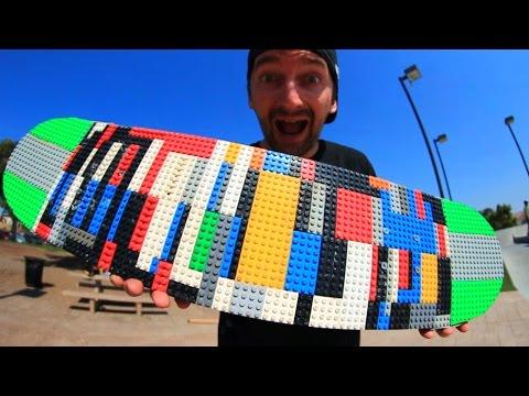 LEGO SKATEBOARD! | YOU MAKE IT WE SKATE IT EP 26