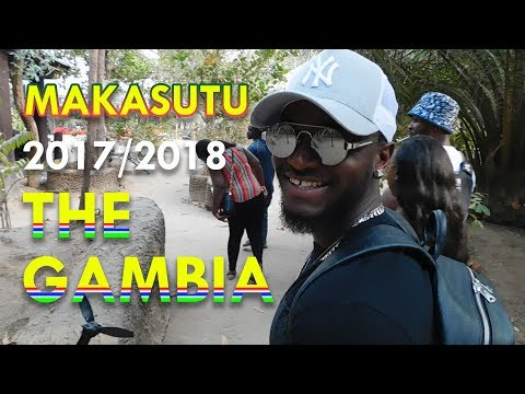 Makasutu Forest!🐊 The Gambia Smiling Coast Of Africa🌍 2017/2018