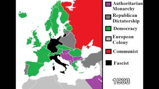 The History of Europe: Ideologies 1787 - 2013