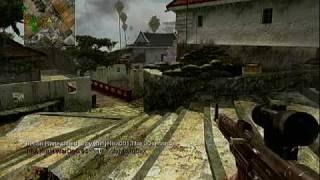 call of duty 5 waw beta gameplay match 14 stg 44