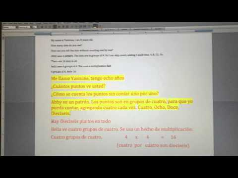 Spanish Translation for Yasmine
