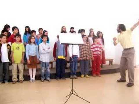 Coro de Niños 4° año