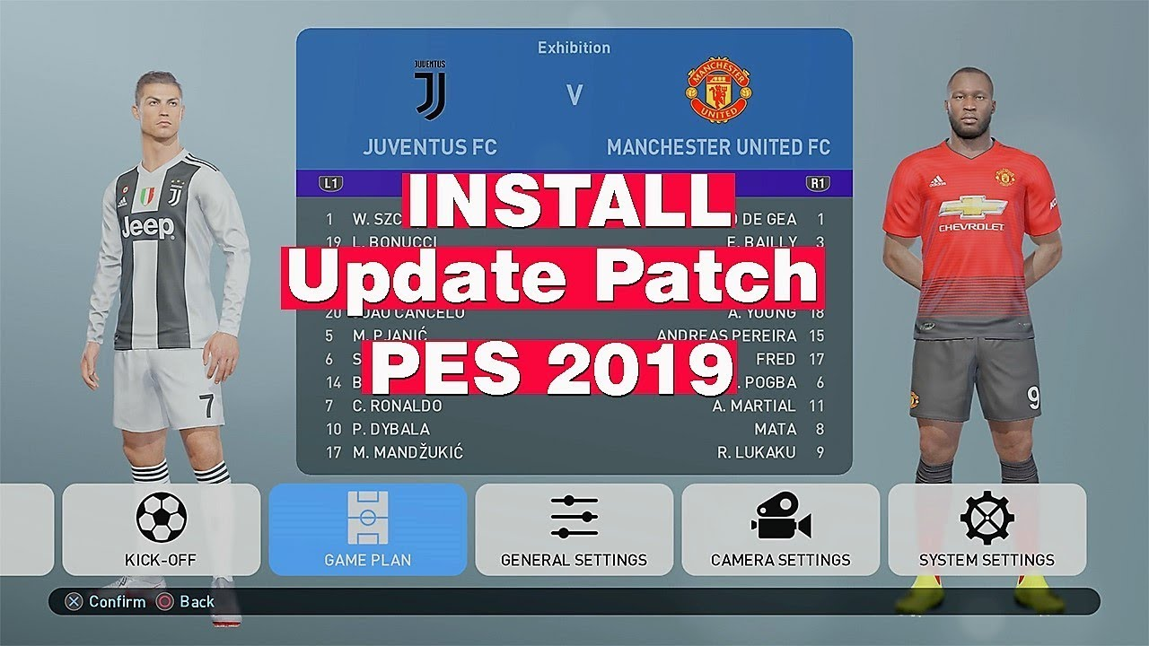 Descargar option file pes 2019 ps4 | PES 2019 PS4 Liga Aguila 2019