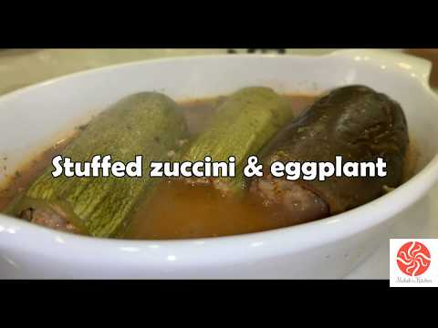 How to make stuffed Zucchini and Eggplant
