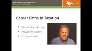 Career Paths in Taxation Accounting