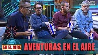 Buenafuente organiza un cine portátil para disfrutar de las 'Aventuras En el aire'
