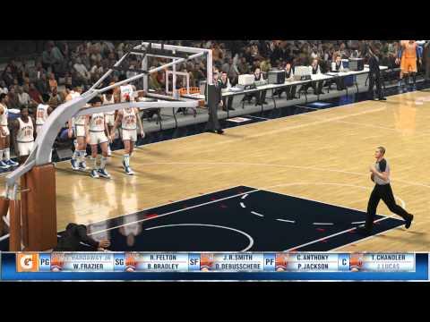 NBA 2K14 - Old School vs New School - 1971-72 Knicks vs 2013-14 Knicks