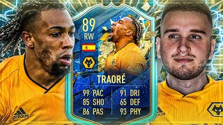 FIFA 20: Mr. Most Wanted ADAMA TRAORE SQUAD BUILDER BATTLE🔥🔥