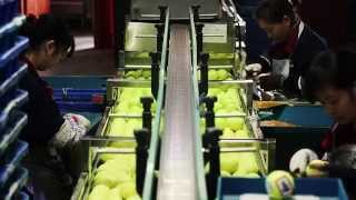 A visit to Odear Tennis manufacturer in China/ How tennis ball is made