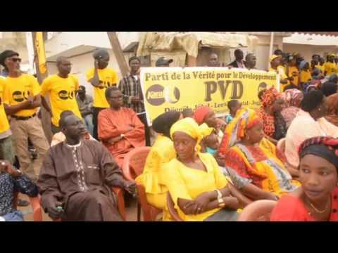 PVD/Législatives 2017:Visite de proximité à Guédiawaye chez Abdourahmane Guèye