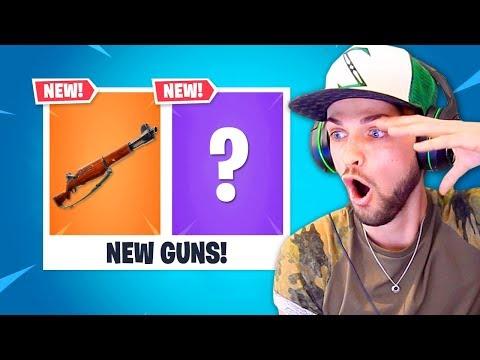 2 *NEW* GUNS!