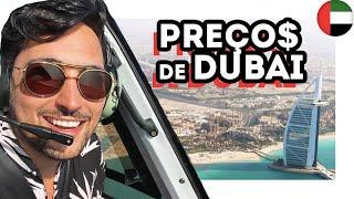 O QUE FAZER em DUBAI? PREÇOS e ATRAÇÕES nos EMIRADOS ÁRABES - Estevam Pelo Mundo