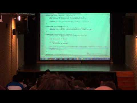 Implementando Python en JavaScript por Angel Lopez - PyCon 2013