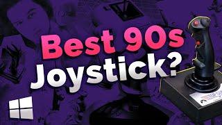 Old PC Gaming Joystick Review   Best 90s PC Joystick   Thrustmaster, Logitech, Saitek