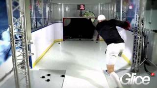 redbull installs glice synthetic ice slapshot station