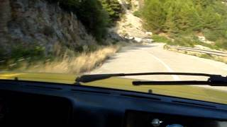 lancia delta integrale test drive part 1