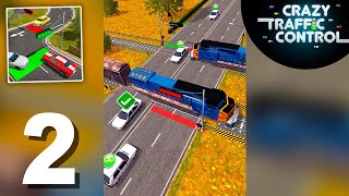 Crazy Traffic Control (by BoomHits) Gameplay Walkthrough 9-15 Levels (Android)