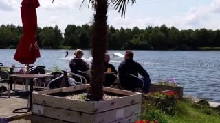 Waterskibaan Park Landal Domein de Schatberg Sevenum Limburg.