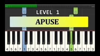 not piano apuse - tutorial level 1 - lagu daerah nusantara - tradisional -  irian jaya / papua