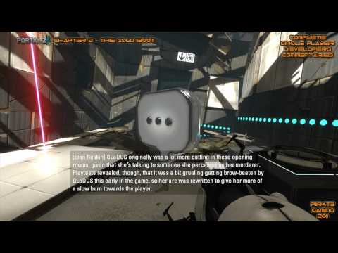 Portal 2 - Developer Commentary Complete on Single Player (All with Subtitles)