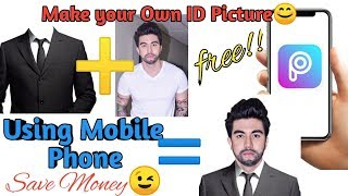 How to Make ID Picture with Attire using Mobile Phone | PicsArt| Tagalog Tutorial screenshot 3