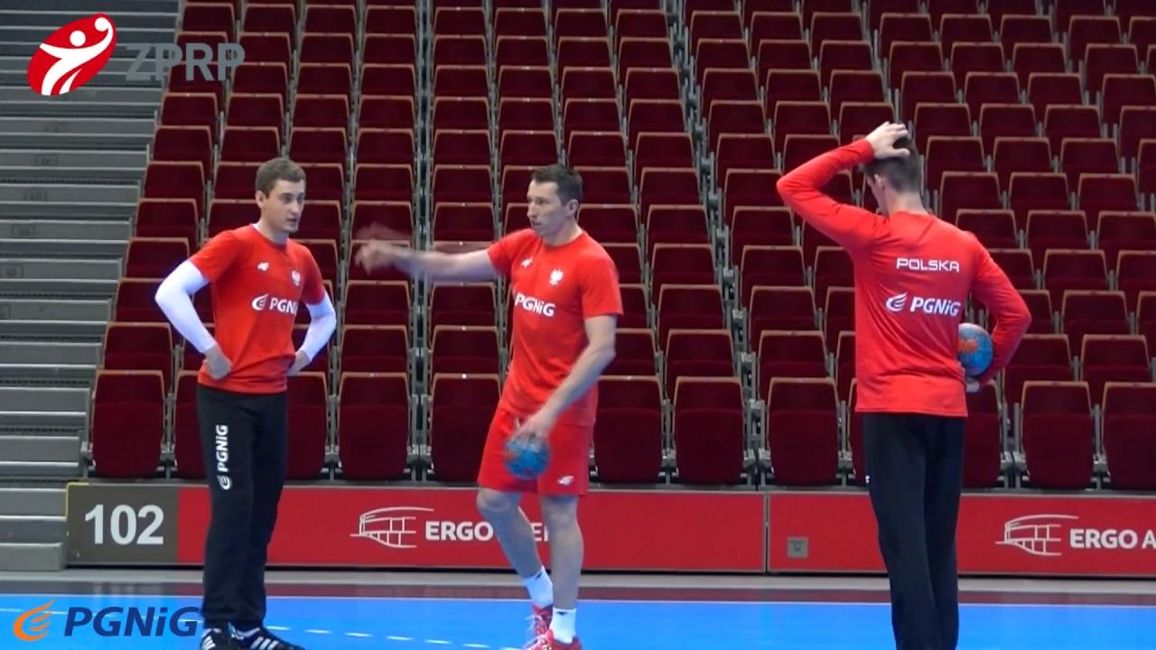Trening reprezentacji Polski mężczyzn w Gdańsku