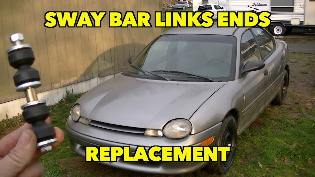How To Install Sway Bar End Links Plymouth Dodge Neon Youtube 1949 Wiring Diagram