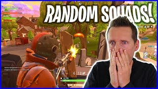 Fortnite SQUADS Playing with Random Strangers