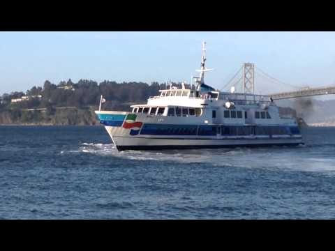 Golden Gate Ferry Marin departing San Francisco