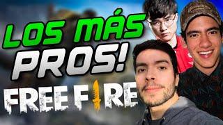 TOP 10 DE LOS MEJORES JUGADORES DE FREE FIRE CON SUS MEJORES JUGADAS | ADRIÁN LM