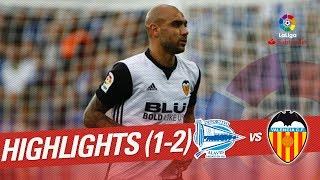 Resumen de Deportivo Alavs vs Valencia CF 1-2