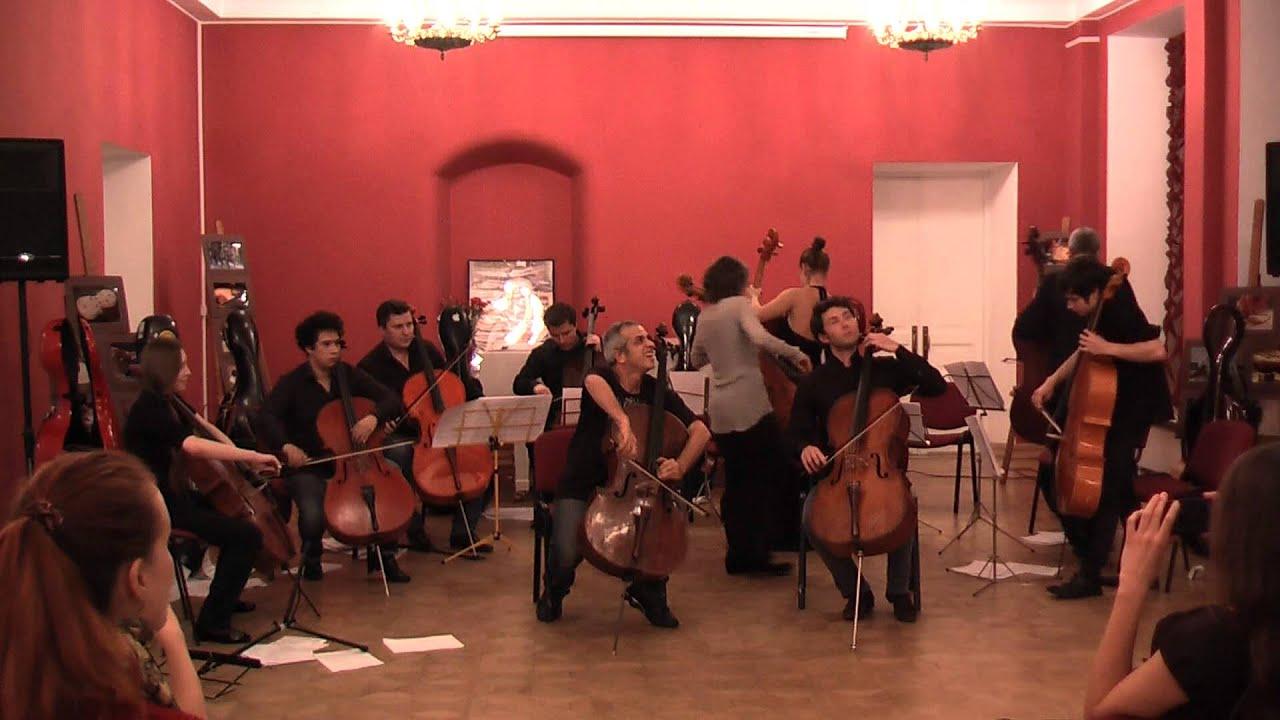 Giovanni Sollima Terra Aria Part2 Danza G 8 Celli GusevL Firagina K Karsanov
