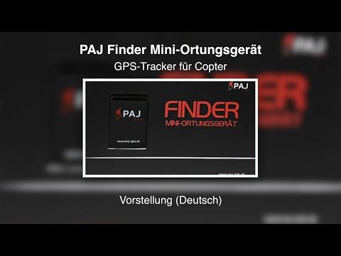 PAJ Finder - GPS-Tracker für Copter - Vorstellung (Deutsch)