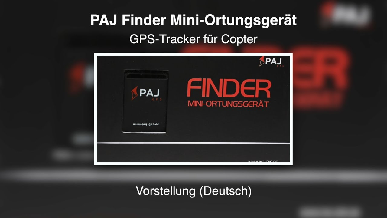 paj finder gps tracker f r copter vorstellung deutsch. Black Bedroom Furniture Sets. Home Design Ideas
